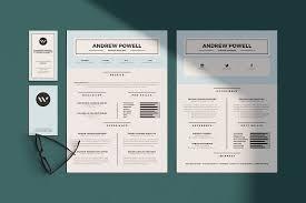 Graphic Design Resume Template Beauteous Resume Templates Creative Market