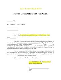 Landlord Notice Vacate Letter Assured Tenancy Template Efficient Add ...