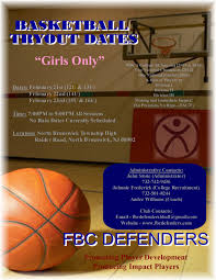 youth select basketball tryout flyers fbc defenders events