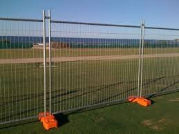 temporary yard fence. Galvanised Security Fence Panels Temporary Metal Fencing Yard N
