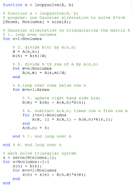 a matlab version of this is available in loopysolve m