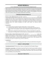General Contractor Resume Sample Contractor Resume Sample