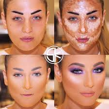 how to apply contour makeup for everyday life easy contouring makeup tutorials picture 1