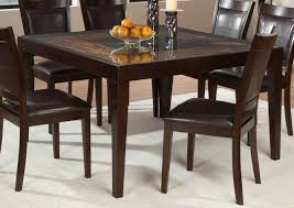 homelegance vincent square dining table  mango and acacia wood