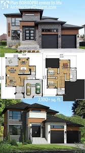 210 best modern house plans images on modern home plans with regard to modern home