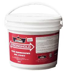 stronghold tile adhesive