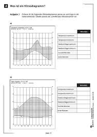 Klimadiagramme - Grundlagen klimatischer Prozesse