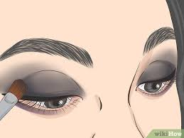 how to apply goth makeup 15 steps