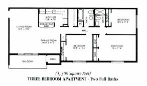 Three Bedroom Flat Plan Decoration Best 3 Bedroom Floor Plan Three  Apartments Plans And Gardens Simple