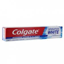 dentifrice colgate sensation white toothpaste 75ml easyparapharmacie