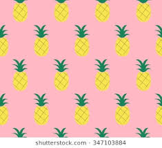 cute pineapple wallpaper. Brilliant Wallpaper Sweet Cute Pineapple Design On Pink Background Seamless Pattern Backdrop  Wallpaper Vector Image For Cute Pineapple Wallpaper E