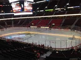 Senators Hockey Seating Chart Canadian Tire Centre Section 219 Row C Seat 8 Ottawa
