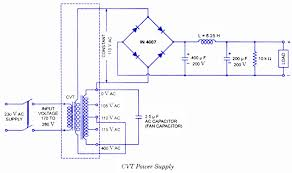 cvt constant voltage transformer working, circuit diagram, application potential transformer ratio calculation at Potential Transformer Wiring Diagram