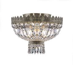 elegant european classic style crystal ceiling lamps