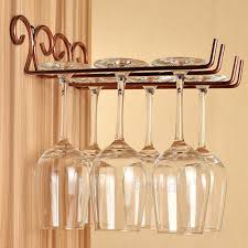 online buy wholesale wall mounted wine glass holder from china