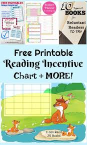 Free Printable Reading Incentive Charts Free Printable Summer Reading Incentive Sticker Chart