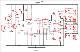 9 way clap switch circuit circuit diagram home and the o jays 9 way clap switch circuit