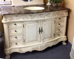 antique vanity unit bathroom basin