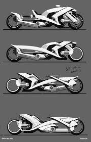 Futuristic Concepts Idw 183 Futuristic Motorbike Page 2