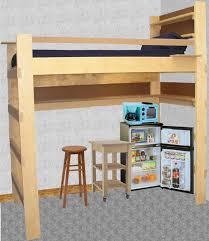 Loft Bedroom Privacy Girls Dorm Room Ideas