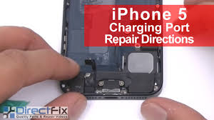 iphone 5 charging port dock replacement in 5 minutes