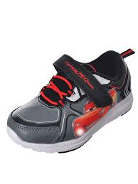 Cars Light Up Shoes Disney Cars Boys Light Up Sneakers Sizes 6 12