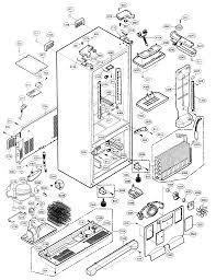 kenmore elite model 79575552401 bottom mount refrigerator genuine parts kenmore refrigerator compressor wiring diagram Kenmore Refrigerator Wire Diagram #31