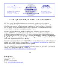 Nevada County Health and Human Services Agency