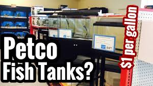Petco Fish Chart Petco Fish Tank Selection Prices Stands Sizes