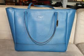 ... france coach saffiano large city tote 4792d f8da4 ...