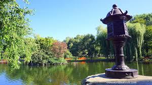 boston public garden japanese lantern