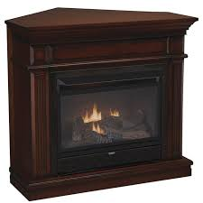 gas logs or wood fireplace