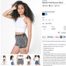 Acid Runner Shorts