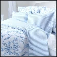 blue and white bedding uk toile