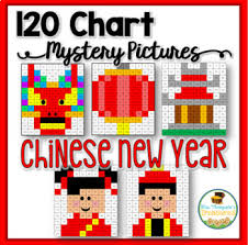 Chinese New Year Chart Chinese New Year 120 Chart Mystery Pictures