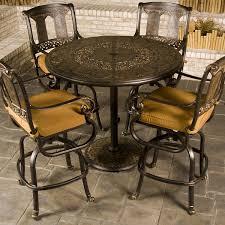 fabulous bar height patio table bar height patio furniture family leisure