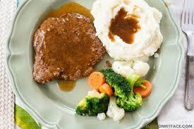 crock pot cube steak with gravy flour