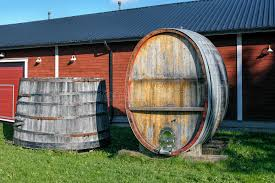 vintage wooden vat and wine barrel stock photo image of alcohol large