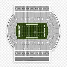 Beaver Stadium Seating Chart Spartan Stadium Michigan State Spartans Football Beaver