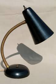vintage gooseneck desk lamp.  Desk Vintage Gooseneck Desk Lamp Midcentury Mod Metal Shade Work  Task Light Throughout Gooseneck Desk Lamp