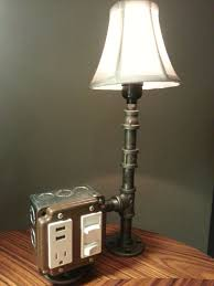 bedside lamp with usb port ideas
