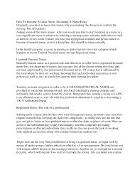 why i want to be a nurse essay admission police officer essay view larger