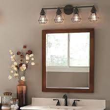 vanity lighting for bathroom. Interesting Lighting 3 Light Bathroom Vanity Lighting Fixtures  With Four Bronze Above With Vanity Lighting For Bathroom