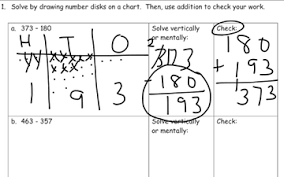 Draw Place Value Disks On The Place Value Chart M5l14 15 Draw Place Value Chart Solve Vertically Check