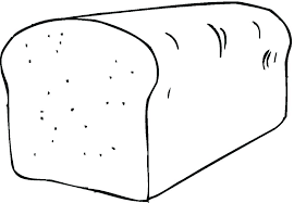 Loaf Of Bread Coloring Page Bread Coloring Page Related Post