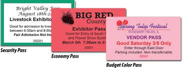 Samples Of Tickets For Events Event Ticket Printing Samples