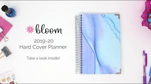 Bloom Daily Planners 2019 2020 Hard Cover Academic Year Daily Planner Walkthrough