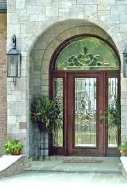 stained glass front doors stained glass entry door custom leaded glass front door with sidelights and