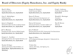 Form 8-K EQUITY BANCSHARES INC For: Apr 24