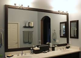 wonderful framed bathroom mirrors ideas diy bathroom mirror frame bathroom ideas framed